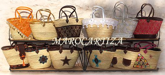 Grossiste paniers marocains paniers traditionnels du for Ou trouver des paniers en osier